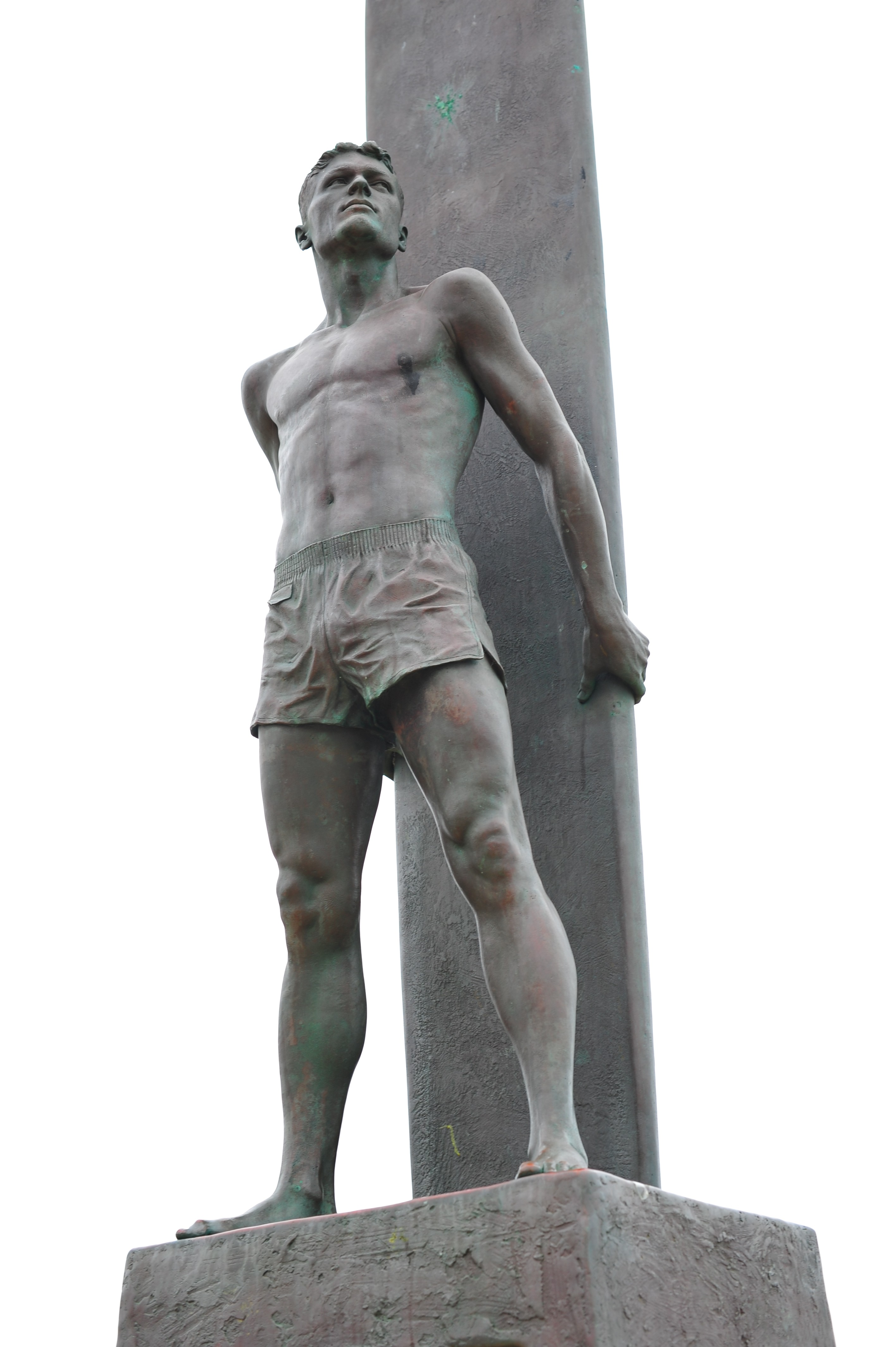On Hot Gay Statues