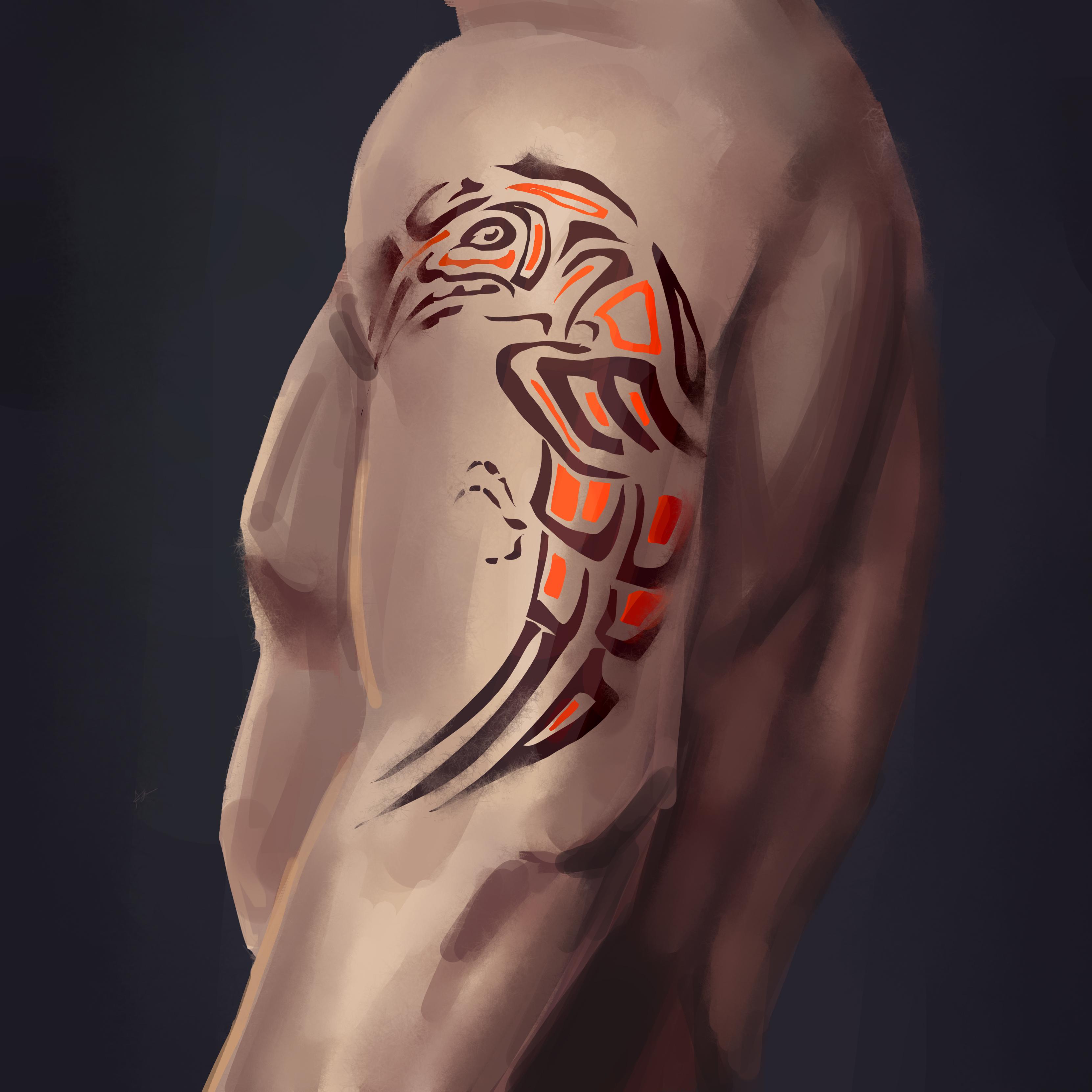 Haida Tattooing Makes Its Mark The Peak