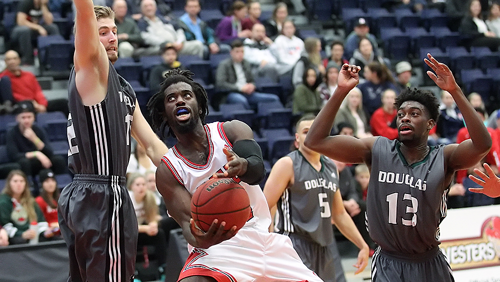 SFU men's basketball shines against Columbia Bible College ...