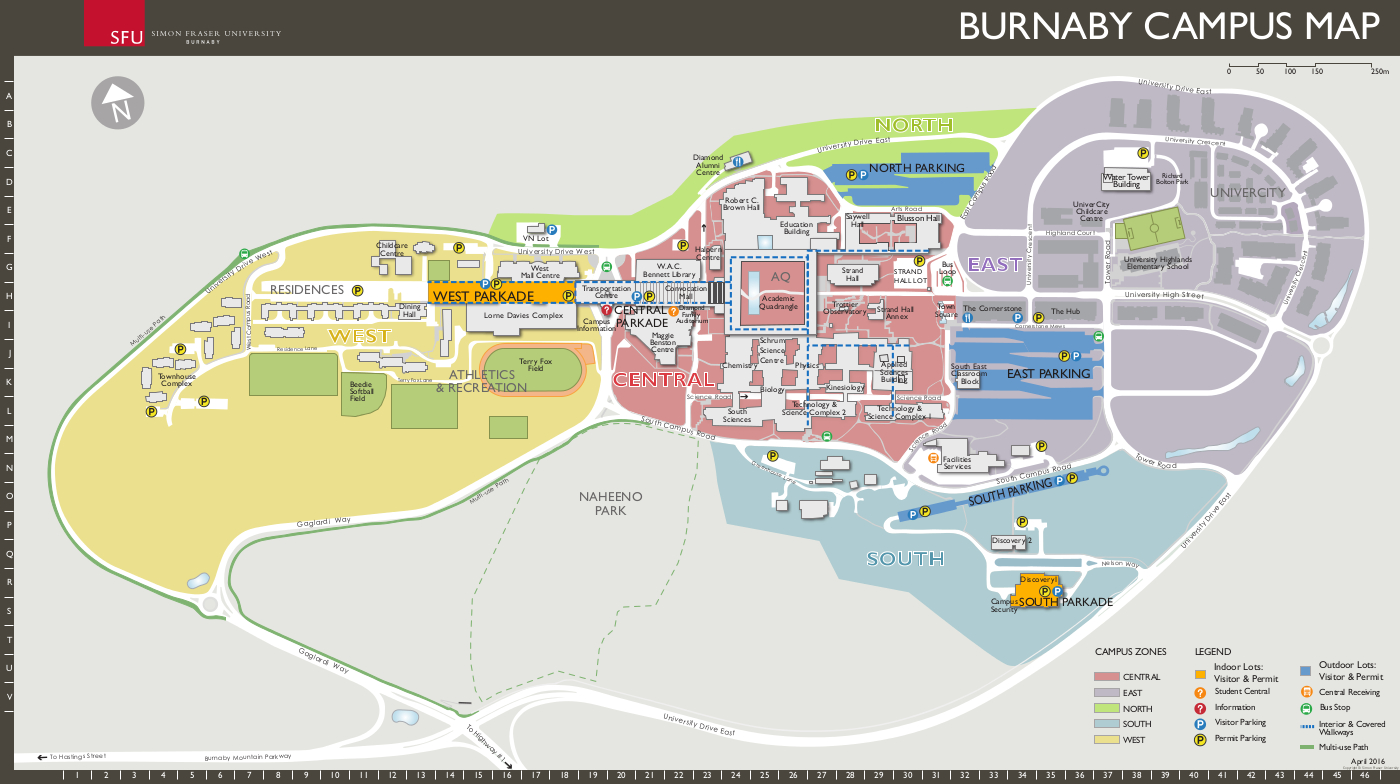 sfu vancouver campus map What To Know And Where To Go The Peak sfu vancouver campus map