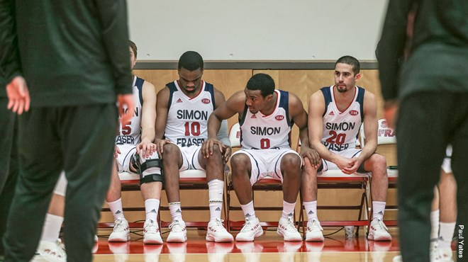 SFU men's basketball drop first two home games of GNAC ...