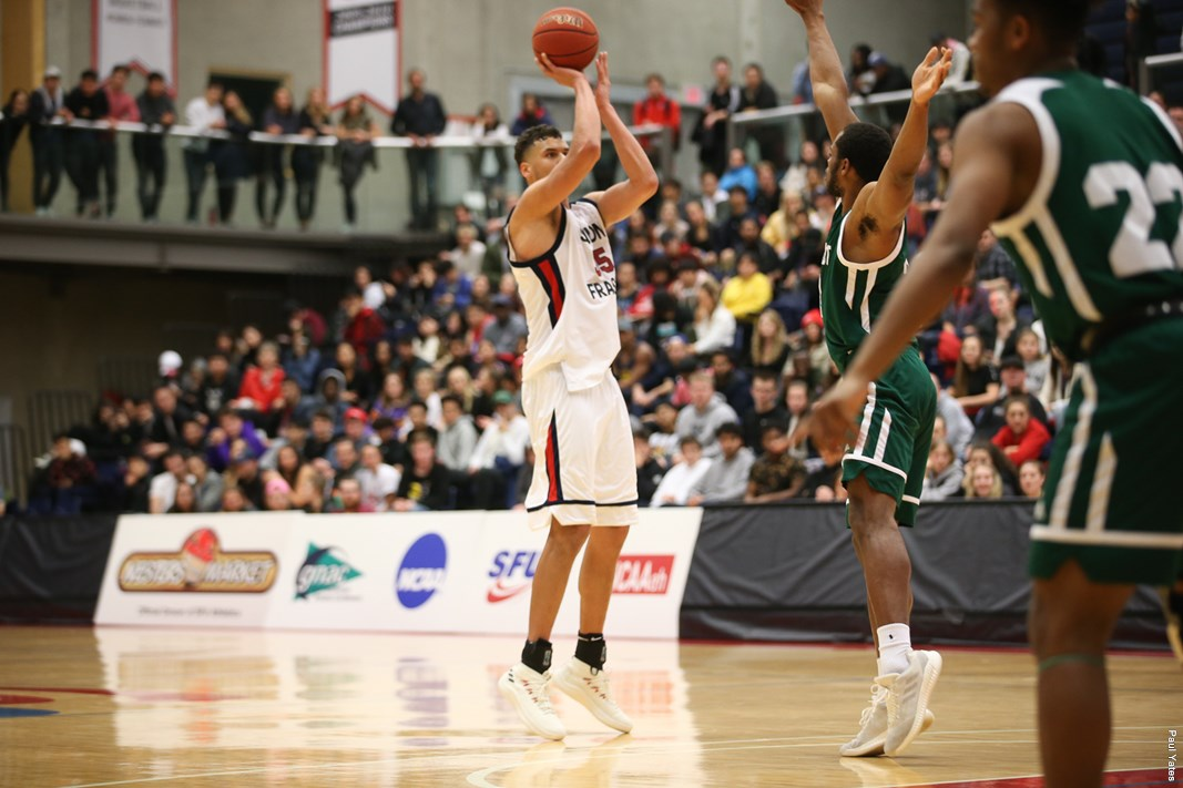 SFU men's basketball split road trip against Seattle ...