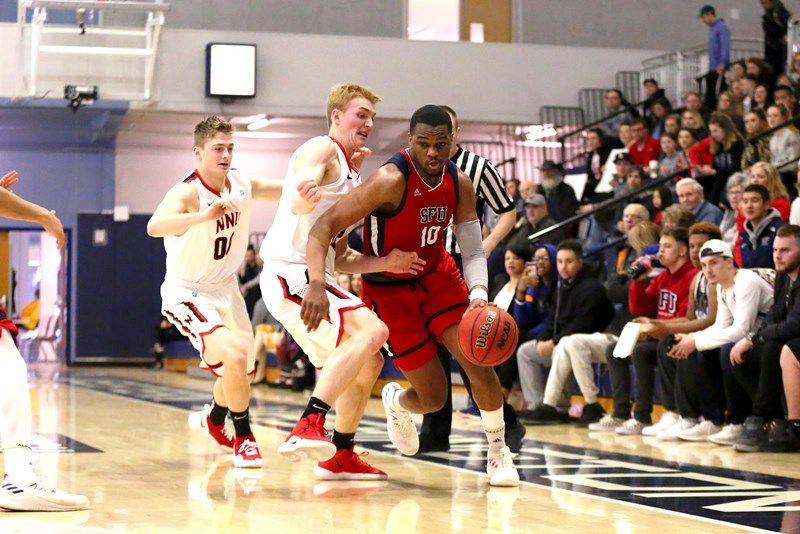SFU men's basketball plays thrilling final game | The Peak