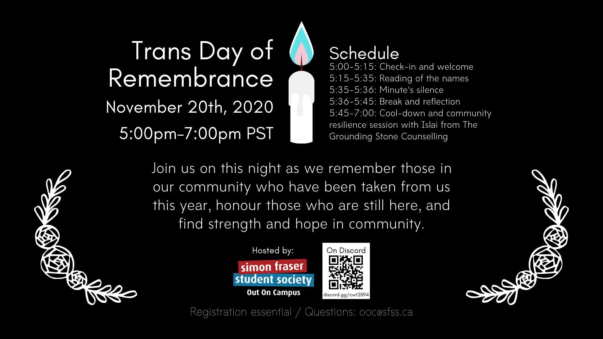 Ceremony, vigil to observe Transgender Day on Friday